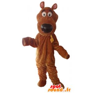 Mascot Scooby berømte tegneserie hund