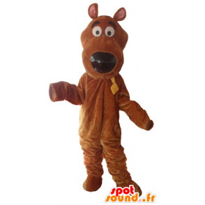 Mascotte de Scoubidou, célèbre chien de dessin animé - MASFR23776 - Mascottes Scooby Doo