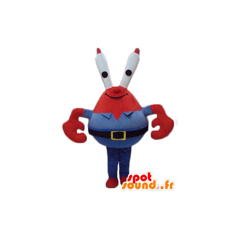 Mascotte de Monsieur Crabs, célèbre crabe rouge dans Bob l'éponge - MASFR23782 - Mascottes Bob l'éponge