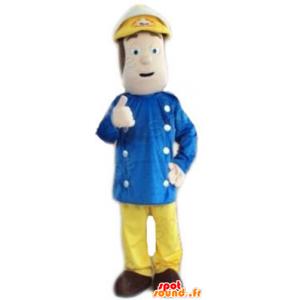 Mascot Mann, Kapitän, Matrose - MASFR23783 - Menschliche Maskottchen