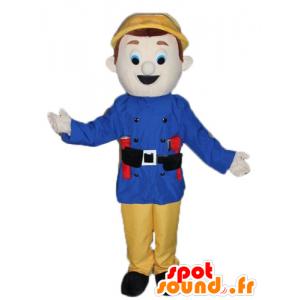 Mascotte, guardia, vigile del fuoco - MASFR23792 - Umani mascotte