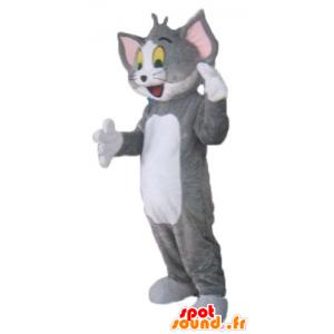 Tom mascotte, de beroemde grijze en witte kat Looney Tunes - MASFR23802 - Mascottes Tom and Jerry