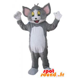 Tom maskot, de berømte grå og hvit katt Looney Tunes - MASFR23802 - Mascottes Tom and Jerry