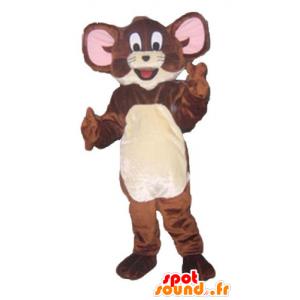 Jerry-Maskottchen, die berühmte braune Maus Looney Tunes - MASFR23803 - Maskottchen Tom und Jerry