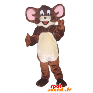Jerry maskotti, kuuluisa ruskea hiiri Looney Tunes - MASFR23803 - Mascottes Tom and Jerry