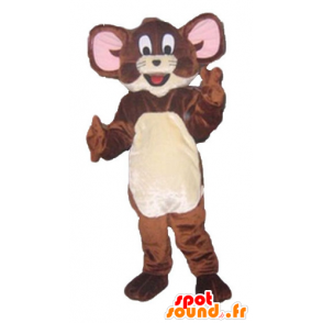 Jerry maskot, de berømte brune muse Looney Tunes - MASFR23803 - Mascottes Tom and Jerry