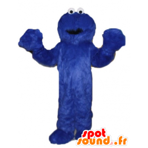 Mascot Elmo, Grover Sesame Street series - MASFR23804 - Mascots 1 Elmo sesame Street