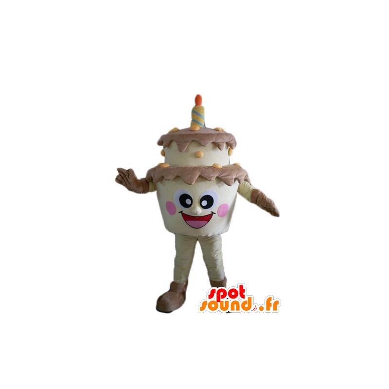 mascotte  Acquista Torta di compleanno gigante mascotte, marrone e giallo in ...