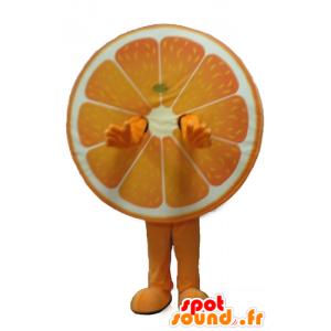 Riesen-orange-Maskottchen, Zitrusfrüchte - MASFR23875 - Obst-Maskottchen