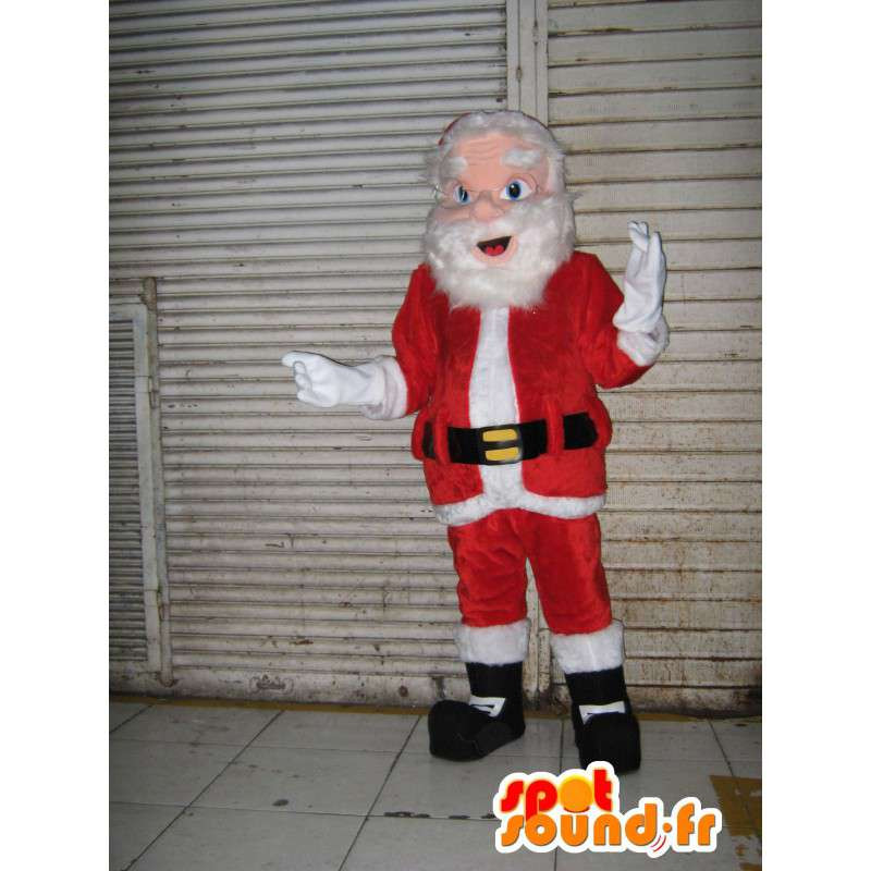 Mascot padre de Navidad gigante.Traje de Santa Claus - MASFR006568 - Mascotas de Navidad