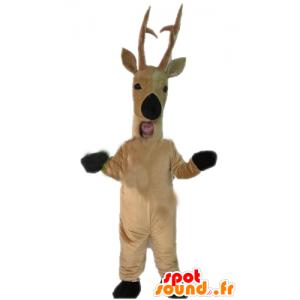 Mascot hjort, rådyr, brun reinsdyr - MASFR23911 - Stag og Doe Mascots