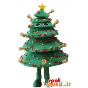 Joulukuusi koristeltu maskotti, hyvin omaperäinen ja hullu - MASFR23935 - joulun Maskotteja