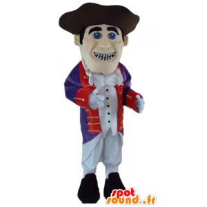Mascotte Soldato, repubblicana in abito tradizionale - MASFR24039 - Mascotte dei soldati
