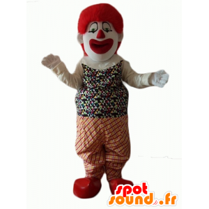 Mascotte de clown très réaliste et impressionnant - MASFR24073 - Mascottes Cirque