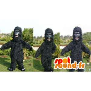 Mascota del gorila negro.Negro traje de gorila - MASFR006612 - Mascotas de gorila