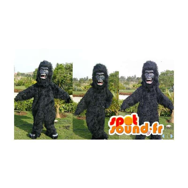 Black gorilla mascot. Black gorilla costume - MASFR006612 - Gorilla mascots  sc 1 st  SpotSound & Purchase Black gorilla mascot. Black gorilla costume in Gorilla mascots