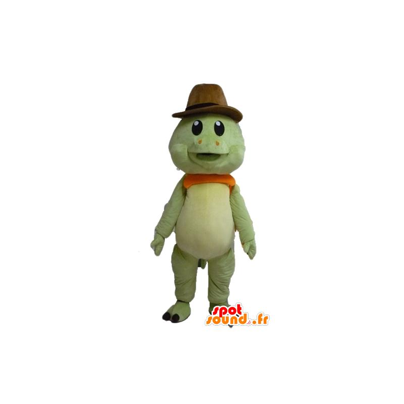 Mascot tortuga verde y naranja cc4ad9f9ba9