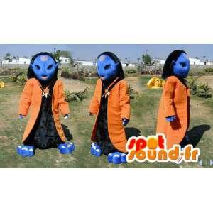 Mascot Avatar blaue Kreatur Fantasy-Film Avatar - MASFR006623 - Fehlende tierische Maskottchen