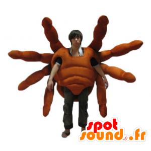 Mascot tarantella, gigantisk edderkopp, realistisk og imponerende - MASFR24144 - Maskoter Insect