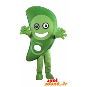 Green vegetable mascot, fruit, cheerful - MASFR24269 - Mascots for fruit and vegetables