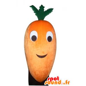 Maskottchen-Orange und Grün Möhre, Riesen - MASFR24273 - Maskottchen von Gemüse