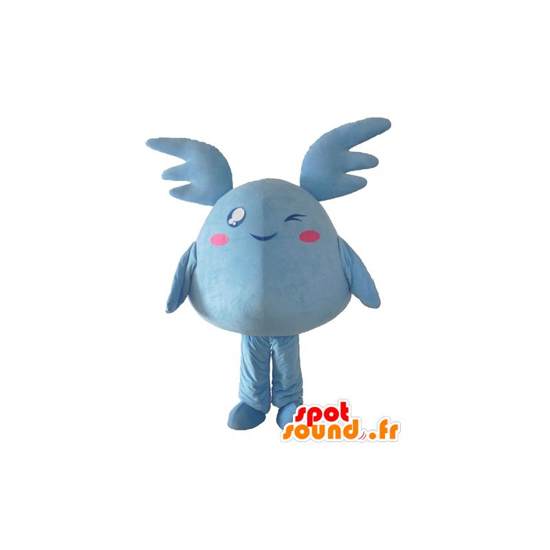 Pokémon mascot blue, giant blue plush - MASFR24300 - Pokémon mascots