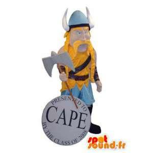 Mascot traditionellen Viking - alle Größen - MASFR006666 - Maskottchen der Soldaten