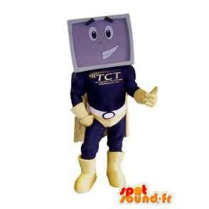 Screen TV mascot - MASFR006667 - Mascots of objects