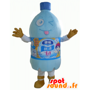 プラスチックボトルのマスコット、水のボトル - MASFR24354 - マスコットボトル
