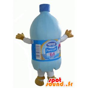 Plastflaske maskot, vann flaske - MASFR24354 - Maskoter Flasker