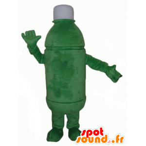 Groene fles mascotte, reuze