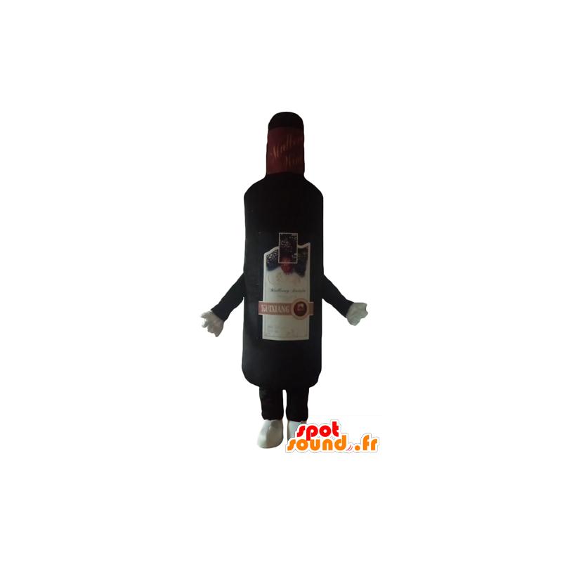 Fles mascotte wijn, likeur reus - MASFR24406 - mascottes Flessen
