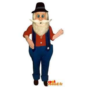 Mascotte cercatore d'oro. Costume cercatore d'oro - MASFR006692 - Umani mascotte