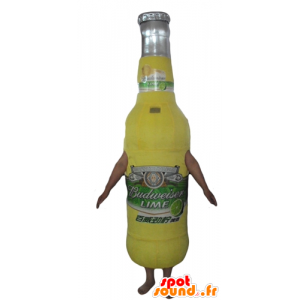 Glass bottle mascot, bottle of lemonade - MASFR24463 - Mascots bottles