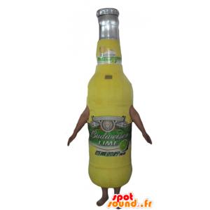 Glazen fles mascotte fles limonade