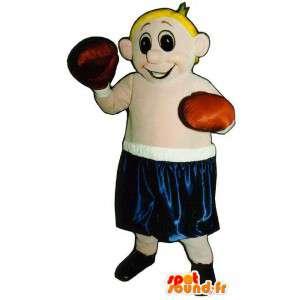 Mascot blond Boxer.Kostüme Boxer - MASFR006698 - Menschliche Maskottchen