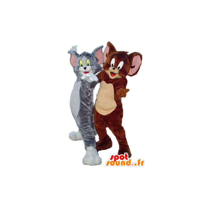 Tom e Jerry mascote, personagens famosos de Looney Tunes - MASFR24489 - Mascottes Tom and Jerry