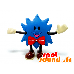 Mascot Blue Star, with a red bow tie - MASFR25011 - Yuru-Chara Japanese mascots