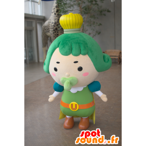 Mascot Chama Oji, König des König Chacha - MASFR25028 - Yuru-Chara japanischen Maskottchen