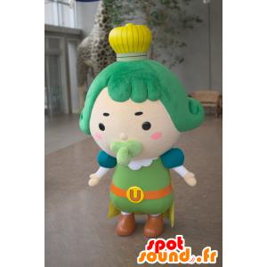 Mascot Chama Oji, kuningas kuningaskunnan chachi - MASFR25028 - Mascottes Yuru-Chara Japonaises