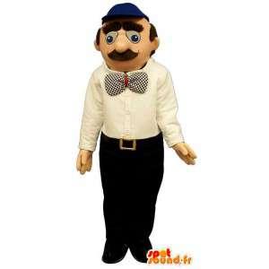Mascot schnauzbärtige Mann.Kostüm Schnurrbart - MASFR006710 - Menschliche Maskottchen