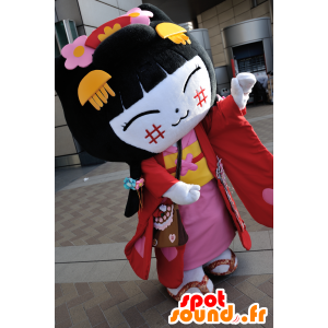 Yachinyan maskot, fra byen Shiga - Spotsound maskot kostume