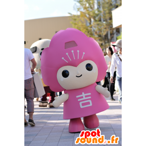 吉野町のマスコット、ピンクのキャラクター-MASFR25051-日本のゆるキャラのマスコット