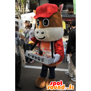 MB mascot Taro, brown colt, the city of Mie