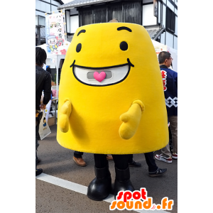 Mascotte Noto-Don, uomo giallo, tutto sorrisi Ishikawa - MASFR25085 - Yuru-Chara mascotte giapponese