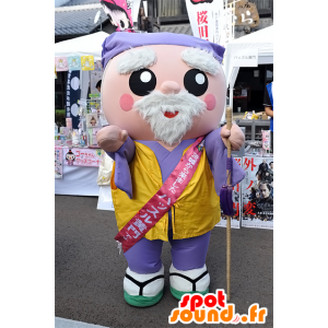 Mascotte Hustle-Komon, vecchio uomo giapponese, Ibaraki - MASFR25087 - Yuru-Chara mascotte giapponese