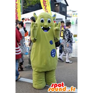 Verde mostro mascotte, mascotte Da Helsinki, in Finlandia - MASFR25091 - Yuru-Chara mascotte giapponese