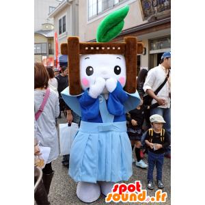 Fuku-chan mascotte della Città di Nagano - MASFR25094 - Yuru-Chara mascotte giapponese
