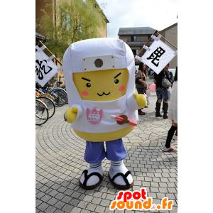 Aburagenshin mascotte, l'uomo giallo e bianco Niigata - MASFR25095 - Yuru-Chara mascotte giapponese
