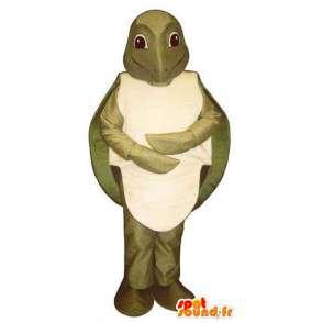 Kaki schildpad mascotte. Turtle Costume - MASFR006725 - Turtle Mascottes